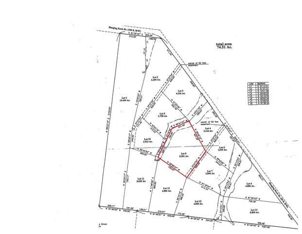 8 Hanging Rock Dr, Altamont, TN 37301 (MLS #RTC2152277) :: Benchmark Realty