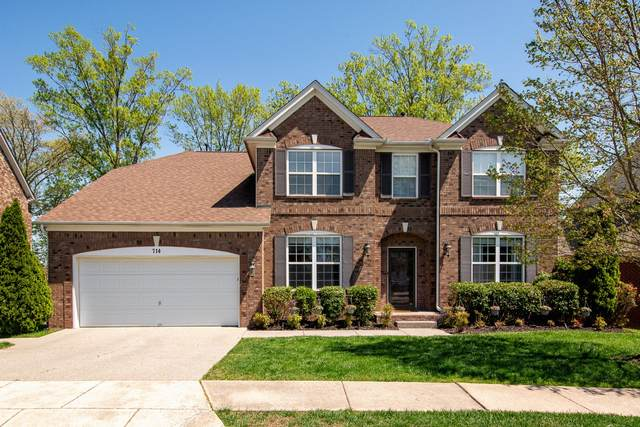 714 Crestmark Dr, Mount Juliet, TN 37122 (MLS #RTC2154156) :: Stormberg Real Estate Group