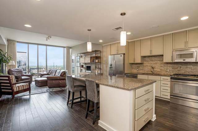 1212 Laurel St #1504, Nashville, TN 37203 (MLS #RTC2154539) :: Felts Partners