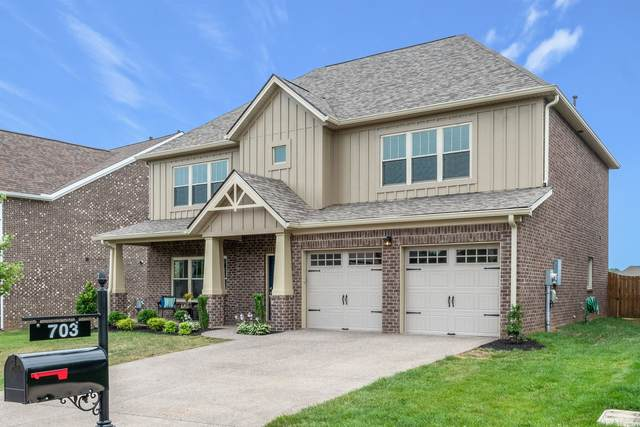 703 Pebble Creek Lane, Lebanon, TN 37090 (MLS #RTC2159934) :: Village Real Estate