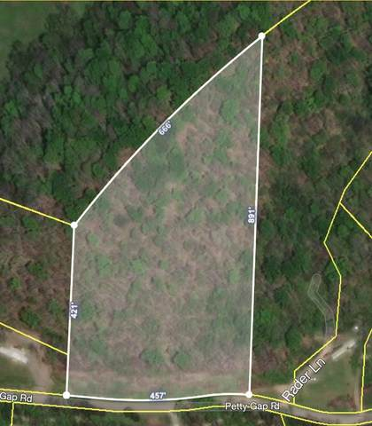 0 Petty Gap Road, Woodbury, TN 37190 (MLS #RTC2166080) :: Berkshire Hathaway HomeServices Woodmont Realty
