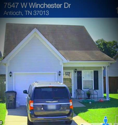 7547 W Winchester Dr, Antioch, TN 37013 (MLS #RTC2168426) :: Village Real Estate