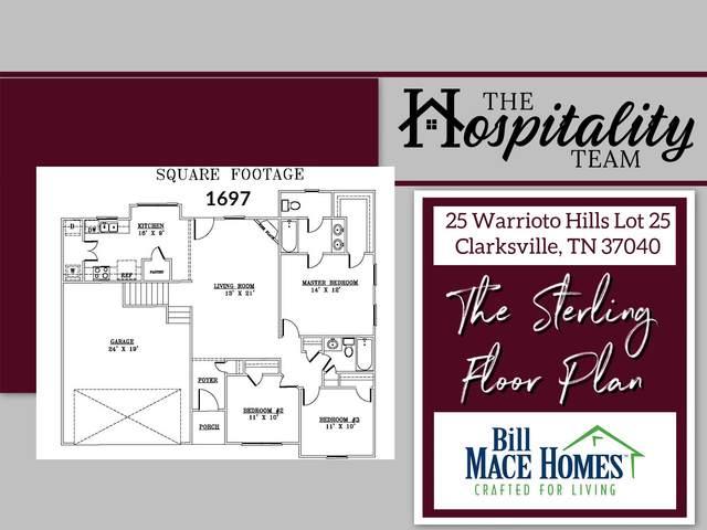 25 Warrioto Hills, Clarksville, TN 37040 (MLS #RTC2169719) :: Kimberly Harris Homes