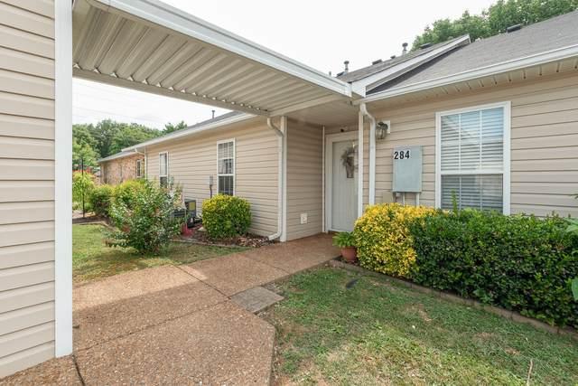 284 Lake Chateau Dr #284, Hermitage, TN 37076 (MLS #RTC2171038) :: Village Real Estate