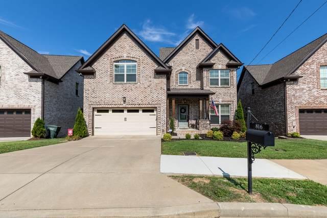 816 Bloomdale Trace, Hermitage, TN 37076 (MLS #RTC2172135) :: Village Real Estate