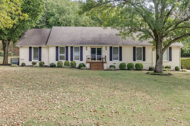 1007 Mooreland Boulevard, Brentwood, TN 37027 (MLS #RTC2179987) :: John Jones Real Estate LLC