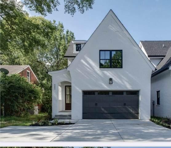 943 Woodmont Blvd, Nashville, TN 37204 (MLS #RTC2180906) :: Village Real Estate