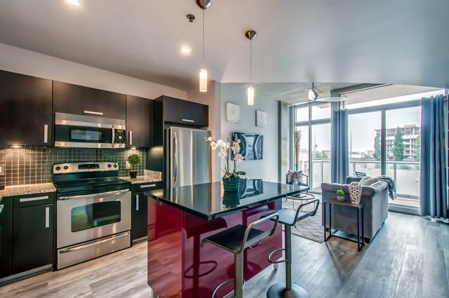 600 12th Ave S #407, Nashville, TN 37203 (MLS #RTC2182740) :: The Milam Group at Fridrich & Clark Realty