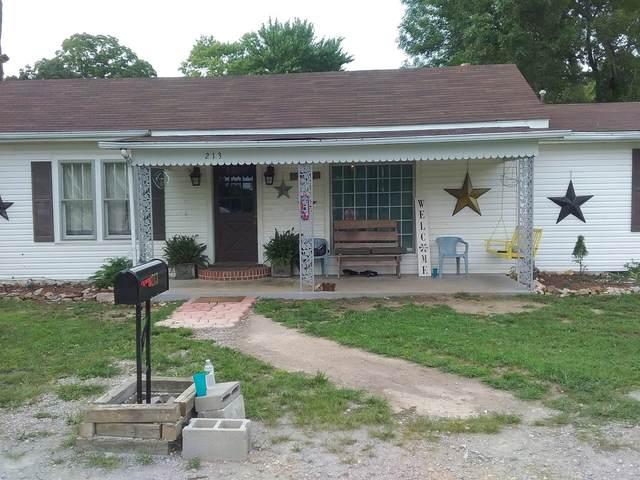 213 1st Ave W, Hohenwald, TN 38462 (MLS #RTC2182996) :: Nashville on the Move
