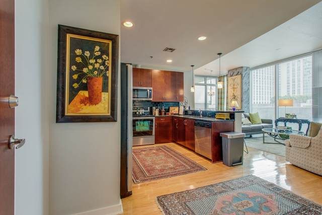 301 Demonbreun St #716, Nashville, TN 37201 (MLS #RTC2184276) :: The Milam Group at Fridrich & Clark Realty