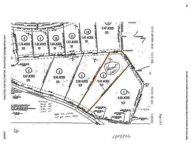 0 Majors Cemetery Rd Lot 2, Lynchburg, TN 37352 (MLS #RTC2186770) :: Stormberg Real Estate Group