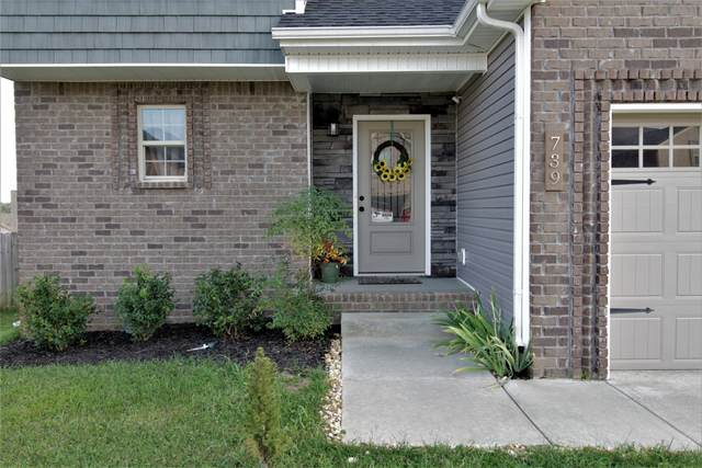 739 Crestone Ln, Clarksville, TN 37042 (MLS #RTC2189020) :: The Group Campbell