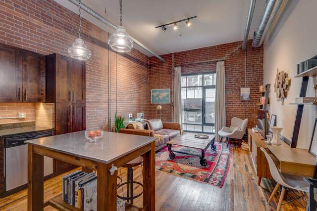 704 Taylor St #301, Nashville, TN 37208 (MLS #RTC2190595) :: FYKES Realty Group
