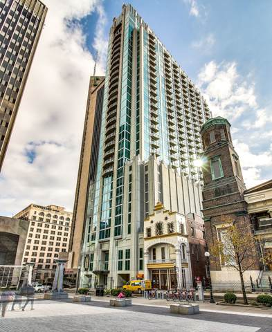 415 Church St #2709, Nashville, TN 37219 (MLS #RTC2191332) :: Christian Black Team