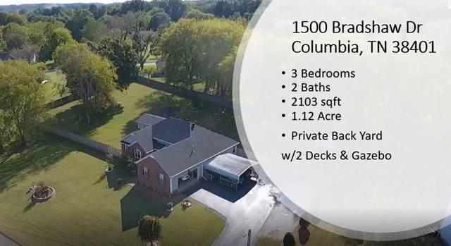 1500 Bradshaw Dr, Columbia, TN 38401 (MLS #RTC2191767) :: Village Real Estate