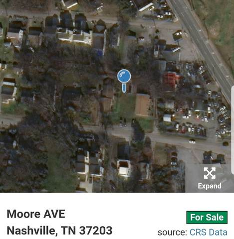 0 Moore Ave, Nashville, TN 37203 (MLS #RTC2191917) :: Cory Real Estate Services