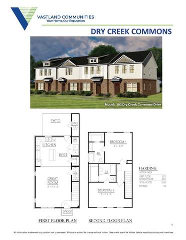 101 Dry Creek Commons Drive, Goodlettsville, TN 37072 (MLS #RTC2195309) :: Kimberly Harris Homes
