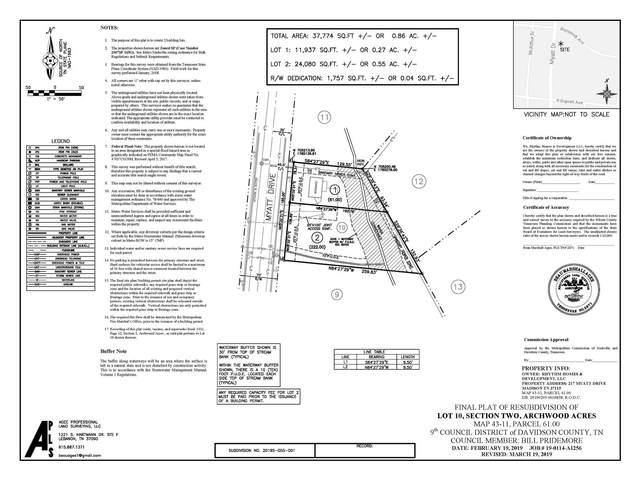 215 Myatt Drive, Madison, TN 37115 (MLS #RTC2195537) :: Adcock & Co. Real Estate