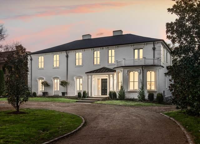 607 Belle Meade Blvd, Nashville, TN 37205 (MLS #RTC2200989) :: RE/MAX Homes And Estates