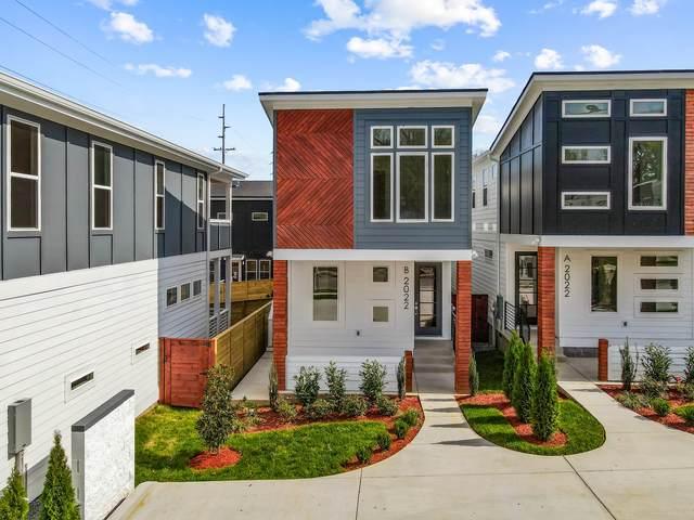 2022 9th Ave N B, Nashville, TN 37208 (MLS #RTC2201686) :: Team George Weeks Real Estate