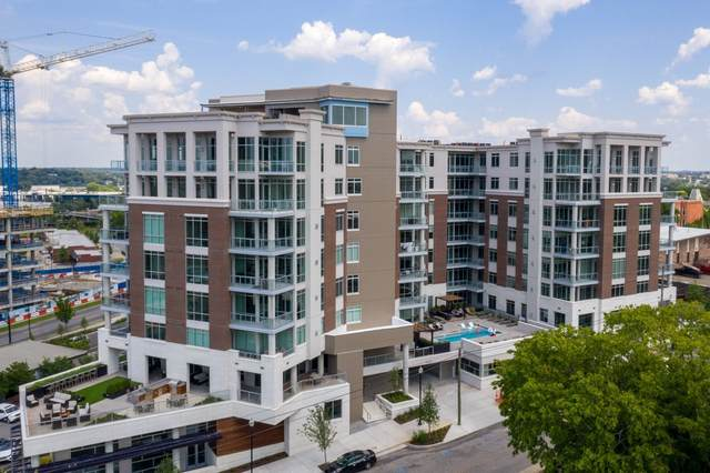 20 Rutledge Street Unit 711 #711, Nashville, TN 37210 (MLS #RTC2207705) :: RE/MAX Homes And Estates