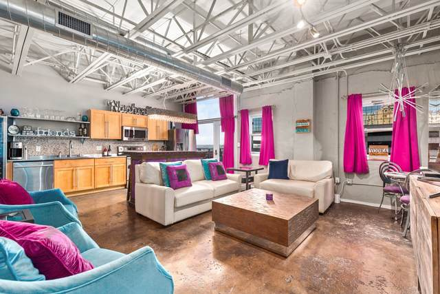 309 Church St #606, Nashville, TN 37201 (MLS #RTC2208309) :: The Milam Group at Fridrich & Clark Realty