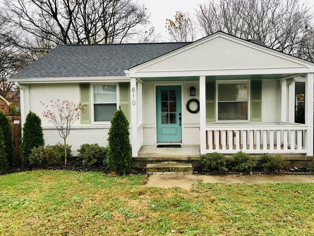 810 Washington Ave, Nashville, TN 37206 (MLS #RTC2210330) :: Village Real Estate