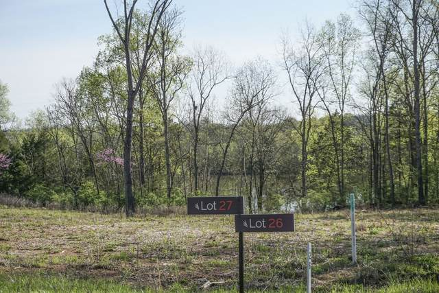 160 Watermill Ln Lot 27, Lebanon, TN 37087 (MLS #RTC2211099) :: The Miles Team | Compass Tennesee, LLC