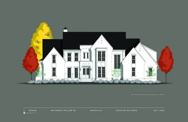 405 Brook Hollow Rd, Nashville, TN 37205 (MLS #RTC2214378) :: Fridrich & Clark Realty, LLC