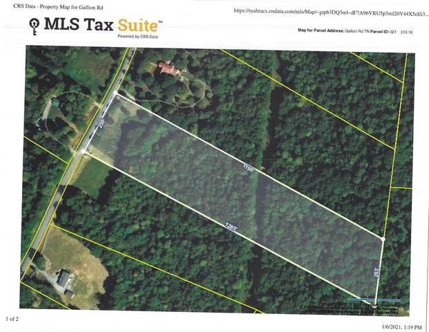 0 Gallion Road, Cumberland Furnace, TN 37051 (MLS #RTC2218065) :: Village Real Estate