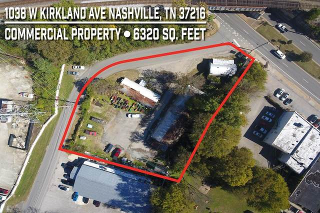 1038 W Kirkland Avenue, Nashville, TN 37216 (MLS #RTC2218116) :: Nashville on the Move