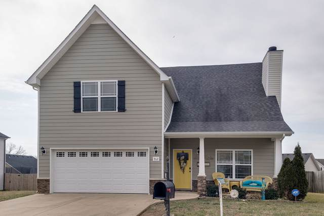 912 Cherry Blossom Ln, Clarksville, TN 37040 (MLS #RTC2222027) :: The Milam Group at Fridrich & Clark Realty