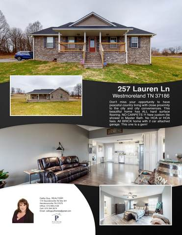 257 Lauren Ln, Westmoreland, TN 37186 (MLS #RTC2222248) :: Ashley Claire Real Estate - Benchmark Realty