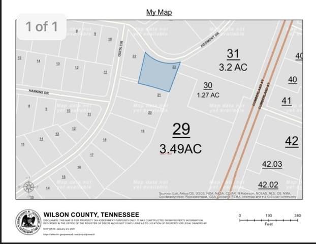 0 Piedmont Dr, Lebanon, TN 37090 (MLS #RTC2222723) :: Cory Real Estate Services