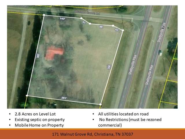 171 Walnut Grove Rd, Christiana, TN 37037 (MLS #RTC2223995) :: Team Wilson Real Estate Partners