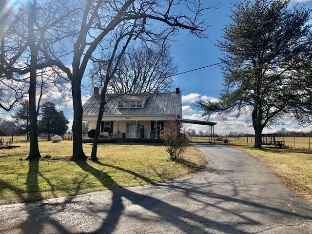 607 Old Columbia Rd, Unionville, TN 37180 (MLS #RTC2224411) :: Village Real Estate