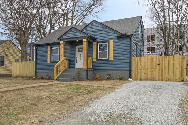 813 Chickasaw Ave, Nashville, TN 37207 (MLS #RTC2227147) :: Village Real Estate