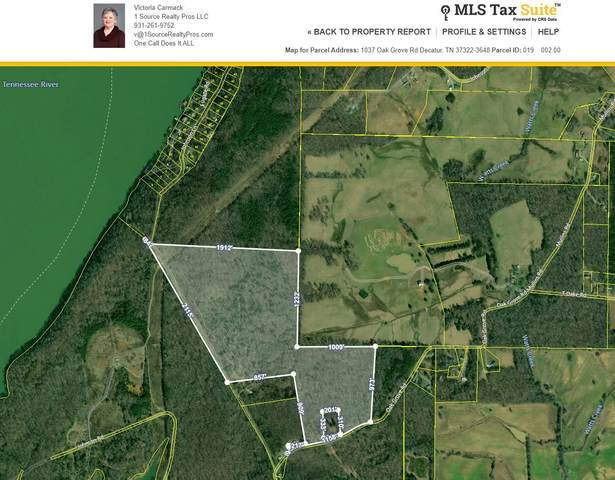 1037 Oak Grove Rd, Decatur, TN 37322 (MLS #RTC2230184) :: Village Real Estate