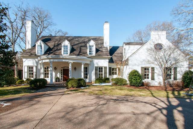 1123 Nichol Ln, Nashville, TN 37205 (MLS #RTC2231470) :: The Helton Real Estate Group