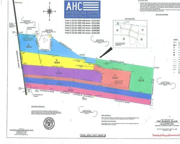 15039 Versailles Rd Tract2, Rockvale, TN 37153 (MLS #RTC2237414) :: John Jones Real Estate LLC