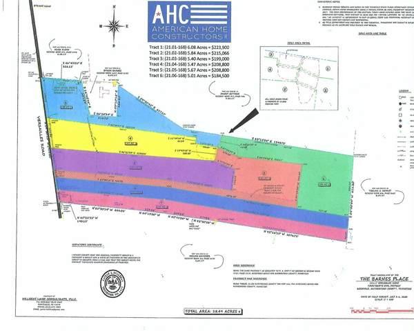 15021 Versailles Rd Tract5, Rockvale, TN 37153 (MLS #RTC2237417) :: John Jones Real Estate LLC