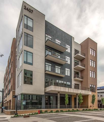 2407 8th Ave S #406, Nashville, TN 37204 (MLS #RTC2237579) :: The Miles Team | Compass Tennesee, LLC