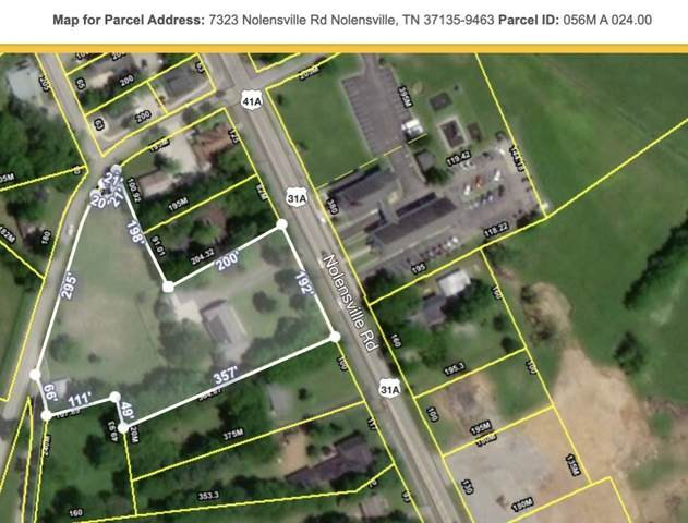 7323 Nolensville Rd, Nolensville, TN 37135 (MLS #RTC2241909) :: FYKES Realty Group
