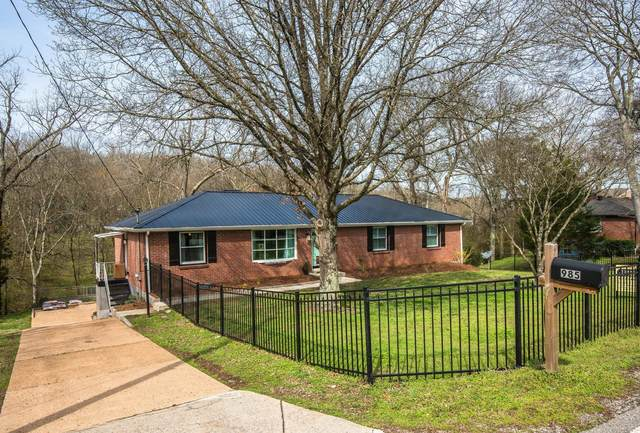 985 Davidson Dr, Nashville, TN 37205 (MLS #RTC2242474) :: RE/MAX Fine Homes