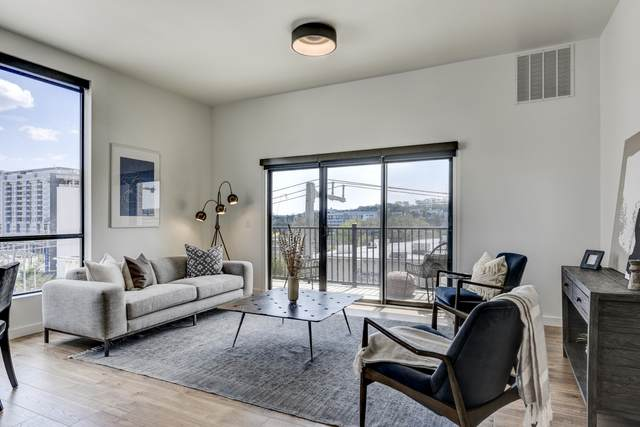 1002 Division St #409, Nashville, TN 37203 (MLS #RTC2243081) :: Candice M. Van Bibber | RE/MAX Fine Homes