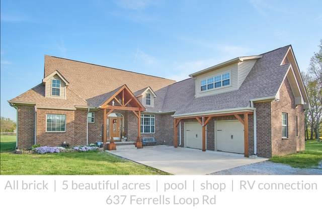 637 Ferrells Loop Rd, Beechgrove, TN 37018 (MLS #RTC2244287) :: Ashley Claire Real Estate - Benchmark Realty