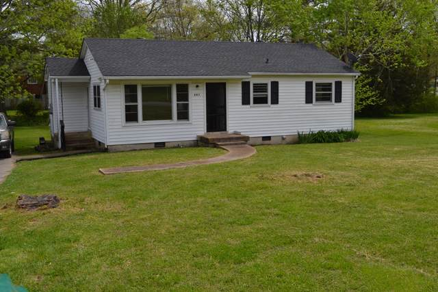 681 Jackson Ave, Lewisburg, TN 37091 (MLS #RTC2244649) :: Team George Weeks Real Estate
