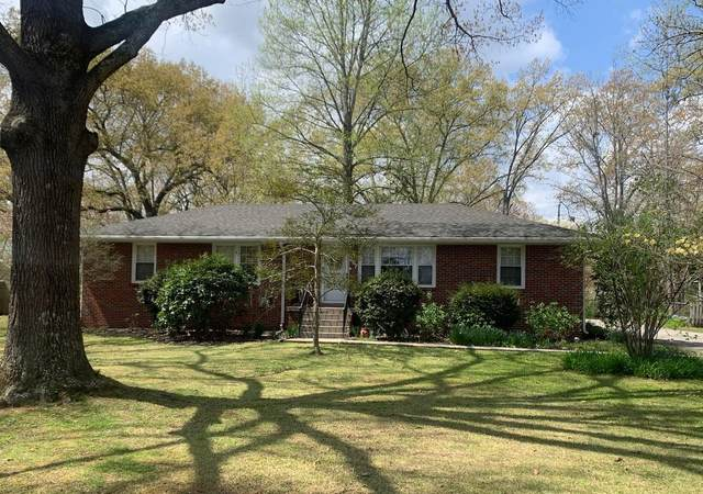 207 Westwood Dr, Tullahoma, TN 37388 (MLS #RTC2245330) :: Ashley Claire Real Estate - Benchmark Realty