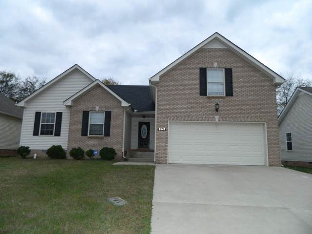 2645 Cider Drive, Clarksville, TN 37040 (MLS #RTC2250989) :: Exit Realty Music City