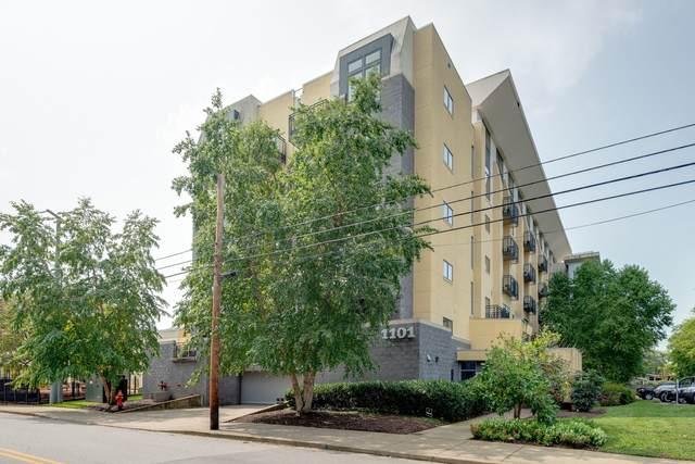 1101 18th Avenue S #406, Nashville, TN 37212 (MLS #RTC2250994) :: Fridrich & Clark Realty, LLC